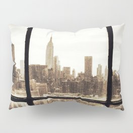 i love NY vintage Pillow Sham