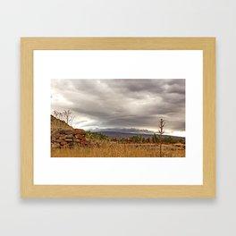 Armenian landscapes Framed Art Print