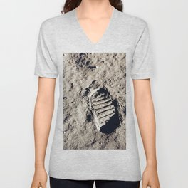 One Giant Leap For Mankind Unisex V-Neck