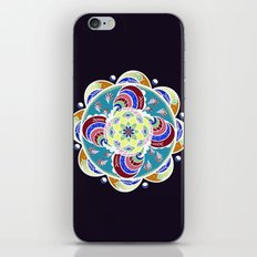 Daisy Lotus Meditation 2 iPhone & iPod Skin
