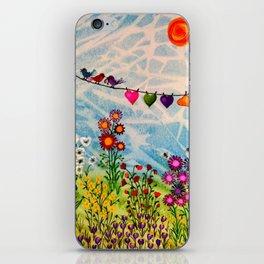 Birds on Wire iPhone Skin