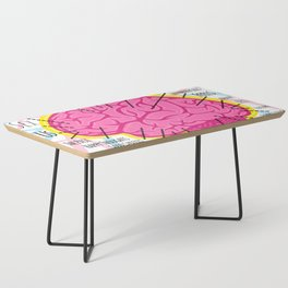 Brain Map Coffee Table