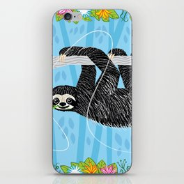 The Sloth and The Hummingbird iPhone Skin