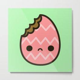 Sad Easter egg Metal Print