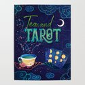 Kelly-Ann Maddox Collection :: Tea and Tarot (Illustrated) by jennylloyd