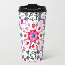 Pink Moorish Travel Mug