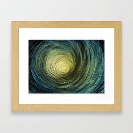 Ethereal Spiral Framed Art Print