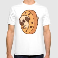 Puglie Cookie Mens Fitted Tee White MEDIUM