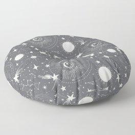 Solar System - Moon Dust Floor Pillow
