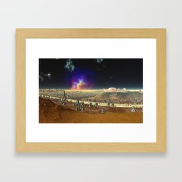 Concourse of the Stars Framed Art Print