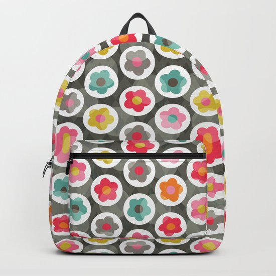 LAZY DAISY PATTERN Backpack