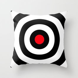 Target (Point Shooting) Throw Pillow