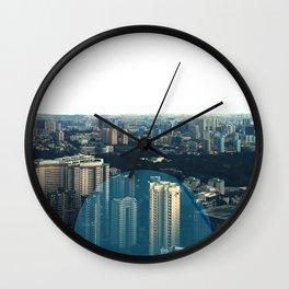 Singapore City Wall Clock