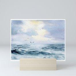 Seascape1 Mini Art Print