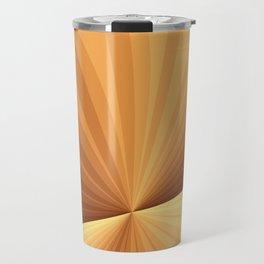 Graphic Design With Stripes Travel Mug