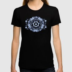 Blue Rhapsody Womens Fitted Tee X-LARGE Black