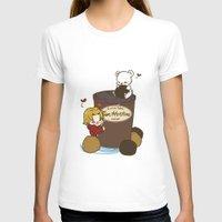 hetalia T-shirts featuring Hetalia - Canada Loves Timmies  by BlacksSideshow