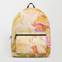 Tropical croton leaves 2/2 Backpack