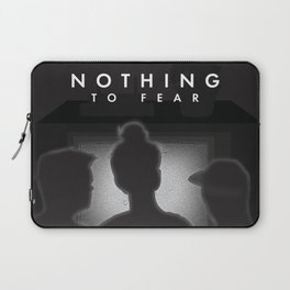 Nothing to Fear Laptop Sleeve