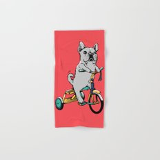 Frenchie Ride Hand & Bath Towel