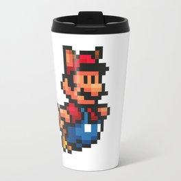 Pixelated Super Mario Bros - Mario Travel Mug