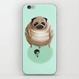 The Pug iPhone Skin