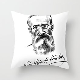 Rimsky-Korsakov Throw Pillow
