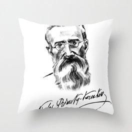 Rimsky-Korsakov Throw Pillow