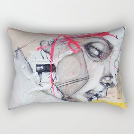 Have you Ever Hurt Someone You Loved? Rectangular Pillow