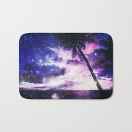 Galaxy ocean Bath Mat