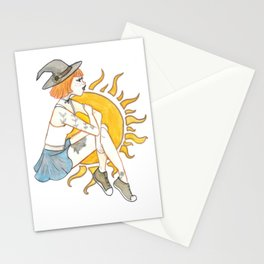 Day Witch Stationery Cards