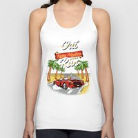 racing Tank Tops featuring Racing Adventure by MeleeNinja