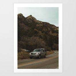 Cimarron Canyon Art Print