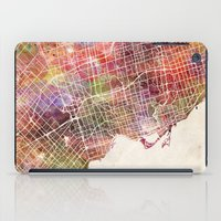 toronto iPad Cases featuring Toronto by MapMapMaps.Watercolors