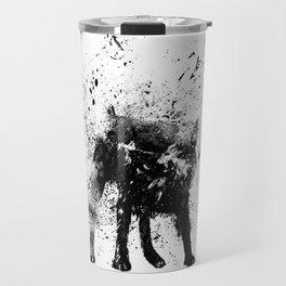 wet dog Travel Mug