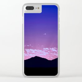 SW Mountain Sunrise - I Clear iPhone Case