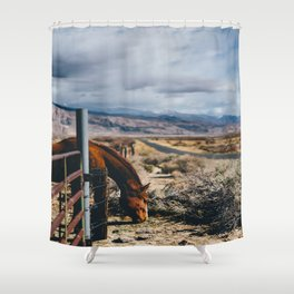 type-fast (kerouac had a first name) Shower Curtain