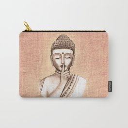 Buddha Shh.. Do not disturb - Colored version Carry-All Pouch