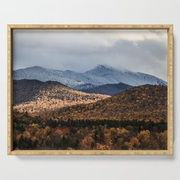 Mount Mansfield, Vermont Serving Tray