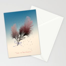 feather Stationery Cards