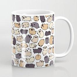 Pug Life Doodle Coffee Mug