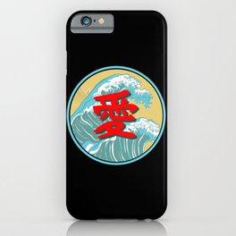 Japanese Word for Love Kanji Asian Symbol Gift iPhone Case