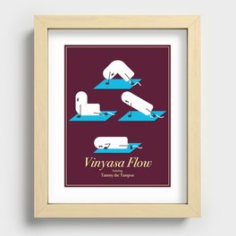 Vinyasa Flow with Tammy Recessed Framed Print
