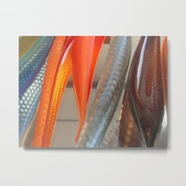 Lino Tagliapetra's Attesta Glass Installation in Venice (2009c) Metal Print