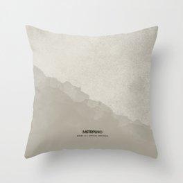 Minimal Splash - Light Throw Pillow