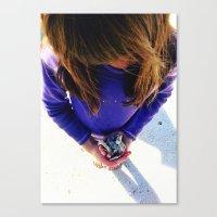 shells Canvas Prints featuring Shells by Stephanie Stonato