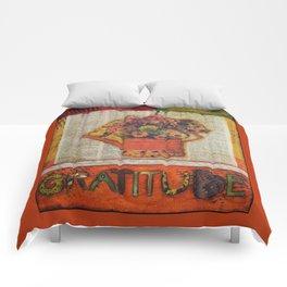 An Autumn Attitude of Gratitude Comforters