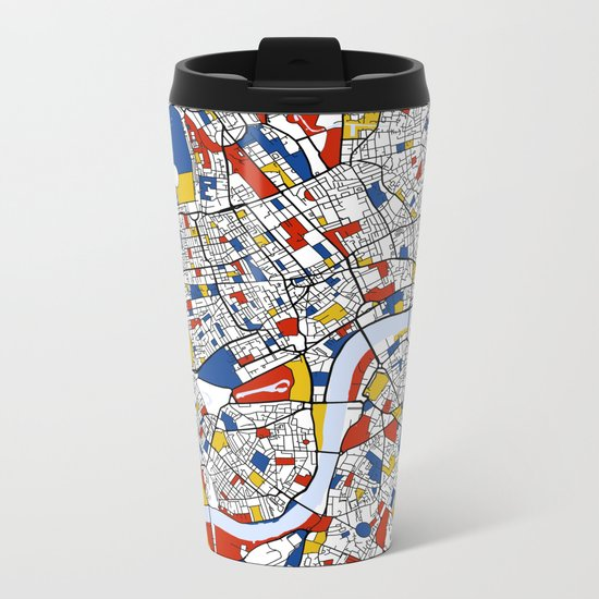 London Metal Travel Mug