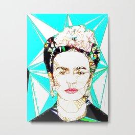 ICONS: Frida Kahlo Metal Print