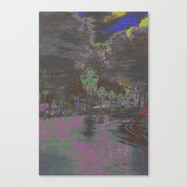 Phased, or fazed, but a reaction is quite the key. Canvas Print